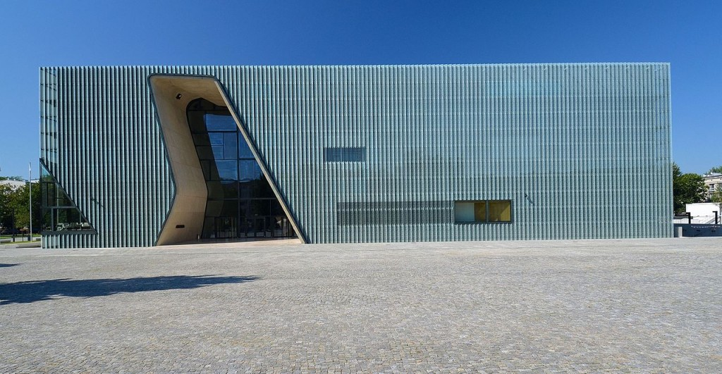 wikicommons POLIN museum Warsaw
