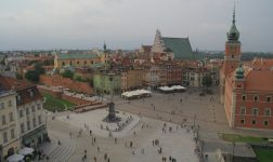 Pedestrian zones – Warsaw for walks