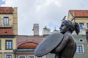 Warsaw monument